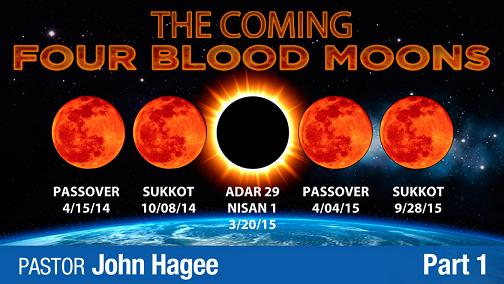 John Hagee - The Coming 4 Blood Moons - Part 1