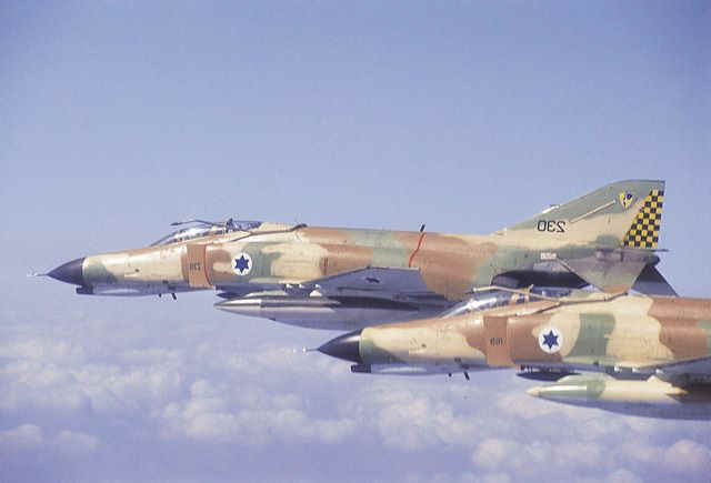 Israeli Defense Forces F-4 Phantom II Fighter-Bombers