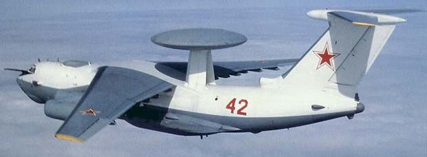 "Russian Beriev A-50 ""Mainstay"" Long Range Detection System (AWACS) Aircraft"