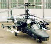 "Russian Kamov Ka-52 ""Hokum B"" Advanced Attack Helicopter"