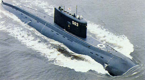 "Russian ""Kilo"" Class Diesel/Electric Attack Submarine"