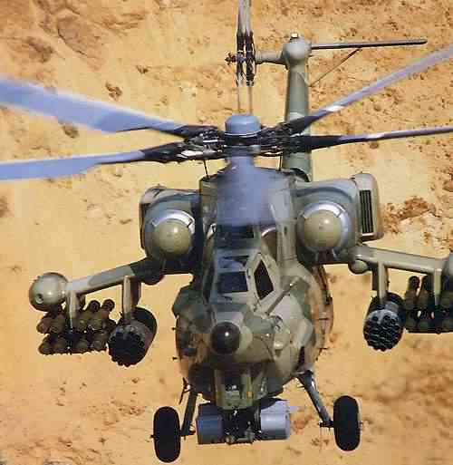 "Russian Mil Moscow Mi-28 ""Havoc"" Attack Helicopter"