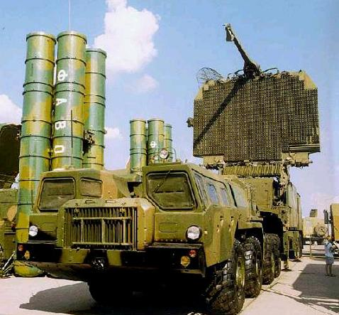 Russian S-300 PMU-2 Anti-Aircraft / Anti-Missile Mobile Missile System