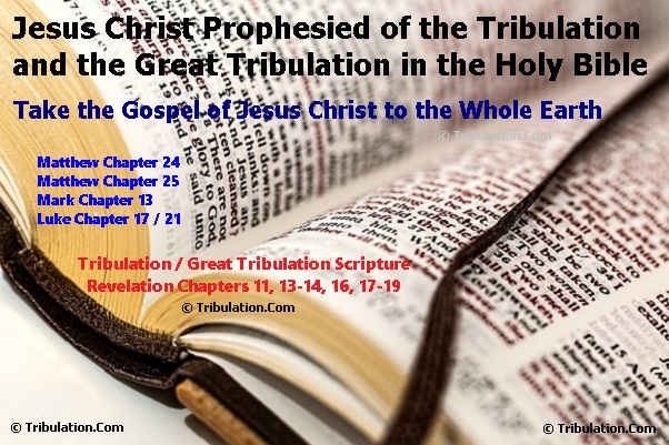 The Tribulation and Great Tribulation Prophecies of Jesus Christ in the Holy Gospels